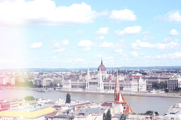 Il parlamento di ungheria budapest