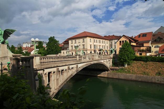Il ponte di lubiana, in slovenia