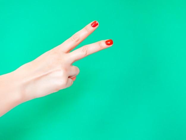 Il segno della mano tagliata
