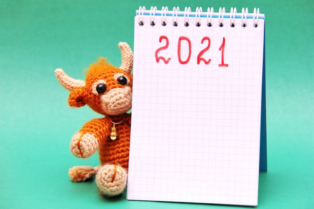 Il toro è il simbolo del nuovo anno