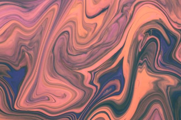Il tramonto sfuma l'arte contemporanea in acrilico
