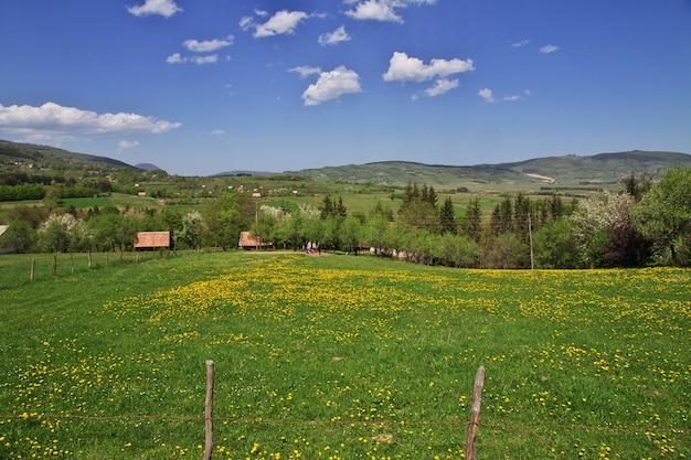 Il villaggio in bosnia ed erzegovina