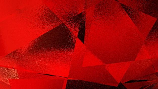 Illustrazione astratta di uno sfondo rosso
