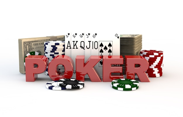 Illustrazione di poker