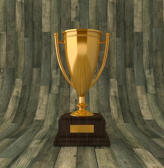 Illustrazione di rendering del trofeo