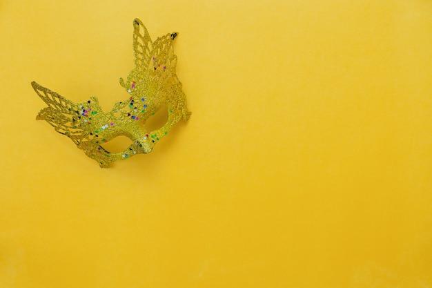 Immagine aerea di disposizione piana del segno del concetto del fondo di festival di carnevale.