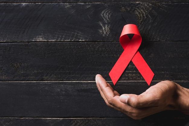 Immagine di sfondo per la giornata mondiale contro l'aids.