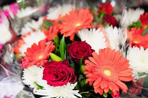 Immagine di un bouquet colorato