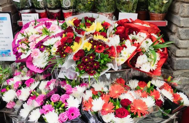 Immagine di un mazzo di fiori