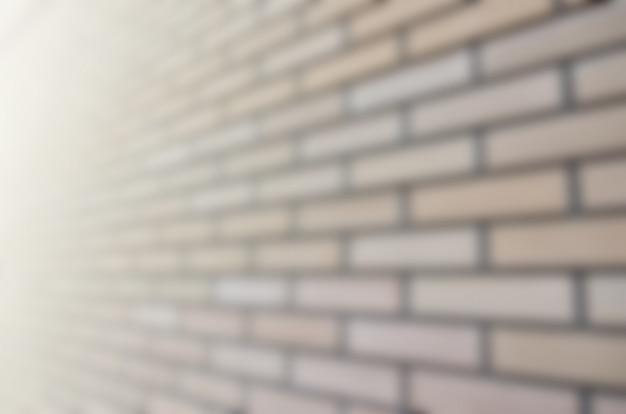 Immagine sfocata di una qualità e muratura idealmente liscia in prospettiva