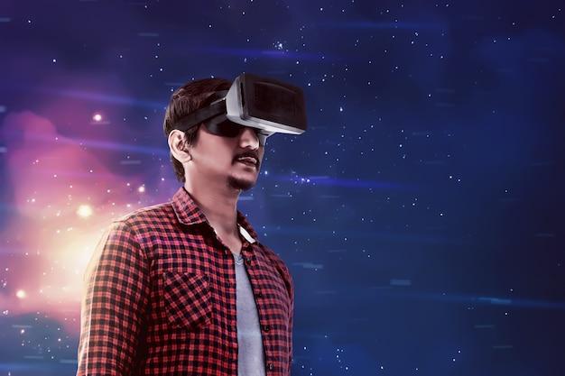 Immagini concettuali di realtà virtuale