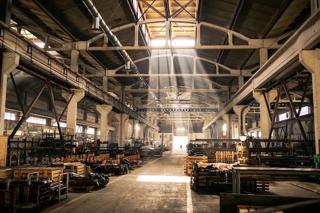Impianto di produzione. attrezzature per la produzione