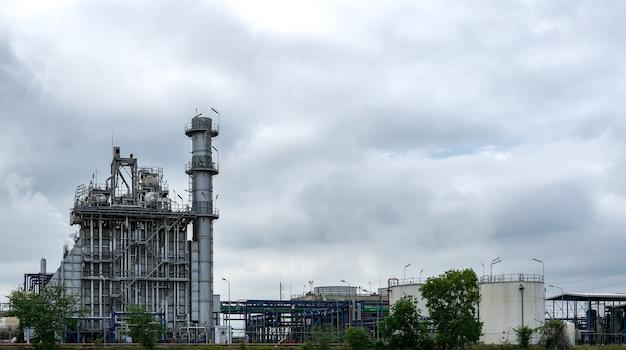Impianto di raffineria di petrolio e gas