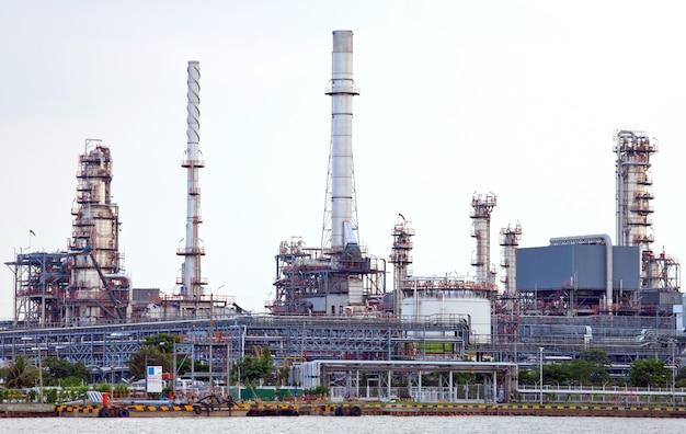 Impianto di raffineria di petrolio