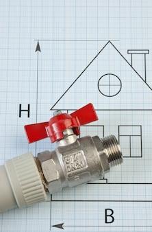 Impostare i raccordi idraulici sul disegno