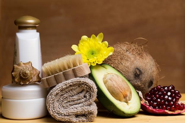 Impostare per il massaggio o la cura del corpo