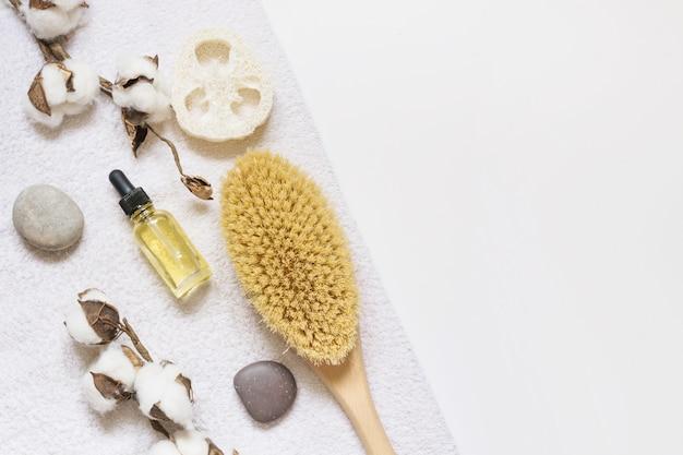 Impostare per la rimozione di spa e cellulite su bianco