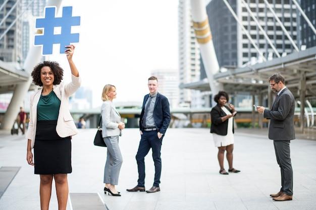 Imprenditori di successo e connessi