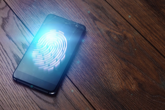 Impronta digitale ologramma