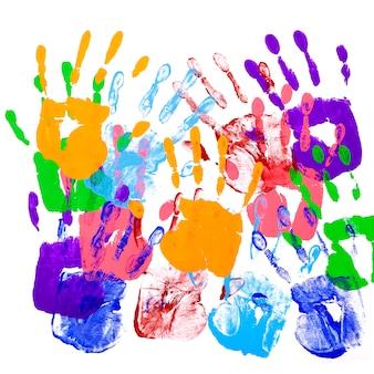 Impronte di mani