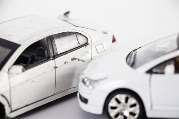 Incidente d'auto giocattolo