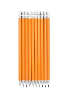 Incredibili matite isolate