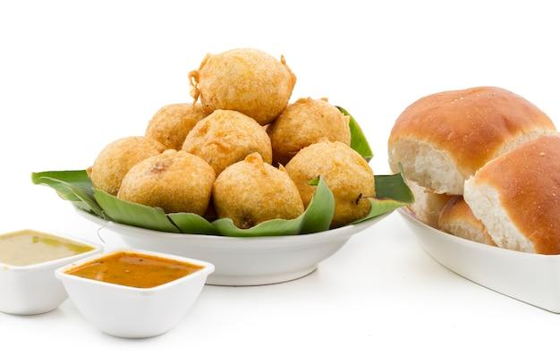 Indian street food vada pav