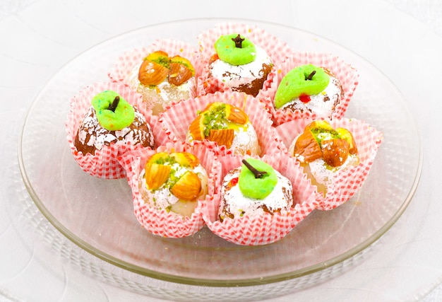Indian traditional mix dolci