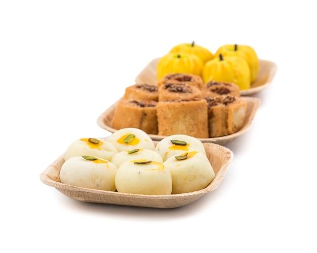 Indiano piccante e cibo dolce