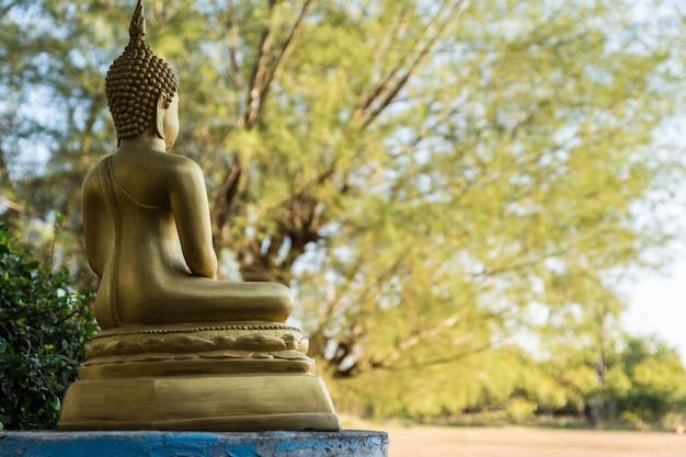 Indietro dell'immagine buddha