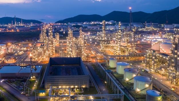 Industria della raffineria di petrolio e gas per trasporto ed esportazione della tailandia