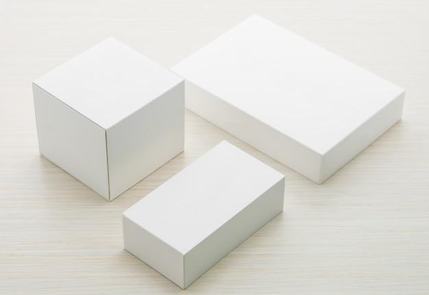 Industria oggetto astratto cartone bianco
