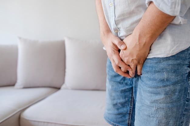 Infiammazione della prostata, eiaculazione precoce, problemi di erezione, vescica.