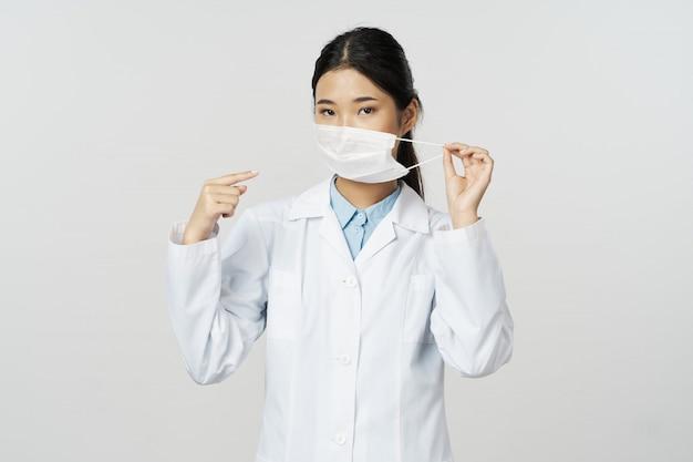 Influenza e virus della dottoressa asiatica in cina, coronavirus 2019-ncov