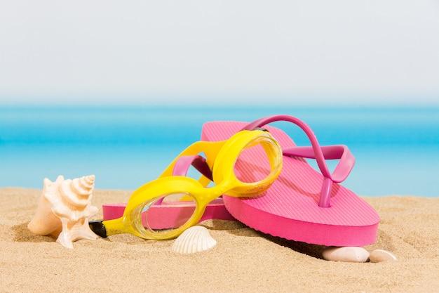 Infradito sulla spiaggia