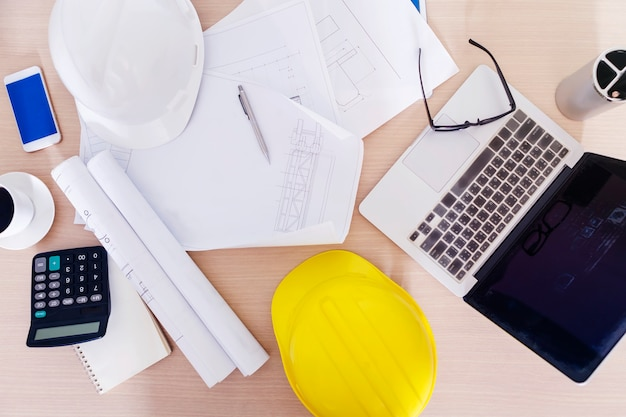 Ingegneria e concetto di costruzione.