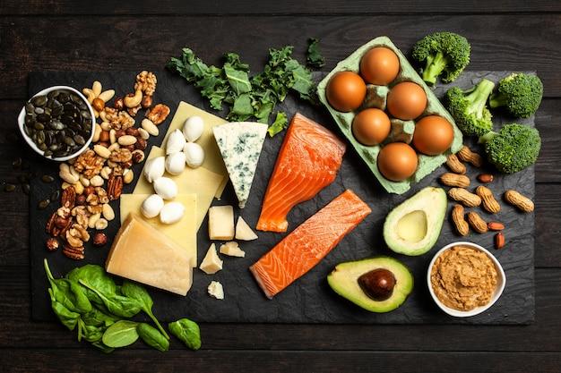 Ingredienti alimentari dieta keto