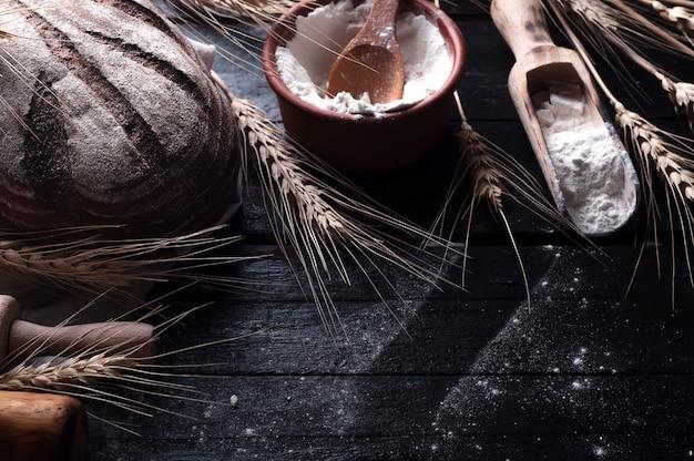 Ingredienti per la cottura sfondo di cibo