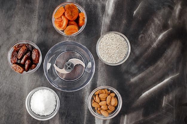Ingredienti per la sfera di energia