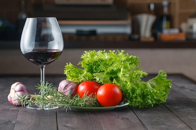 Ingredienti salutari per l'insalata