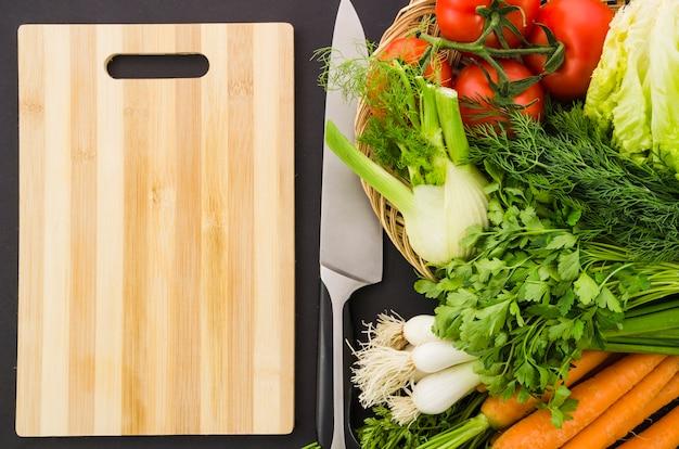 Ingredienti sani inclusi in un'insalata
