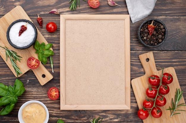 Ingredienti sani per cucinare