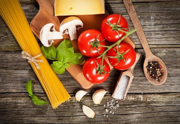 Ingredienti spaghetti