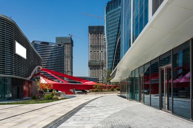Ingresso del moderno edificio per uffici