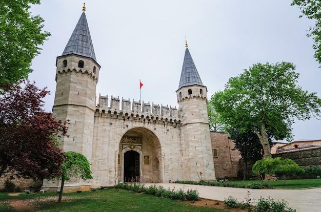 Ingresso del palazzo topkapi, istanbul