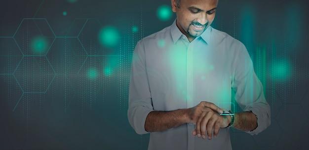 Innovativa tecnologia smartwatch