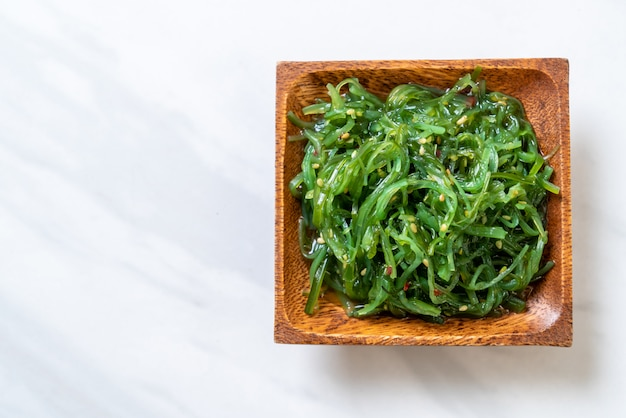 Insalata di alghe-stile giapponese
