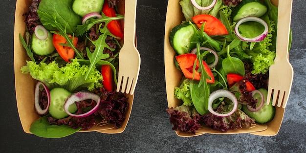 Insalata sana, insalata mista di foglie