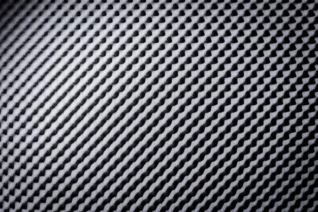 Insonorizzato schiuma fonoassorbente grigio nero, fondo