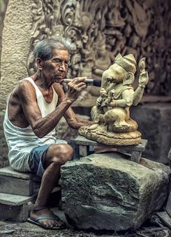 Intagliatore di pietre, Thailandia